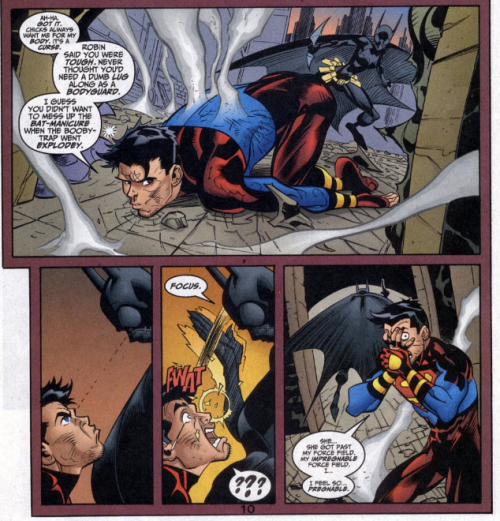 Proof Cassandra Cain is super badass. Poor Kon XDDD