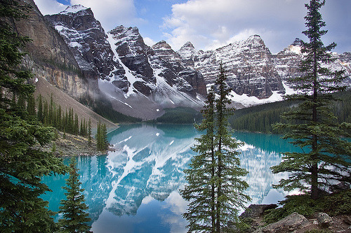 Moraine Lake by Lance Warley. Breathtaking, isn't it? :)