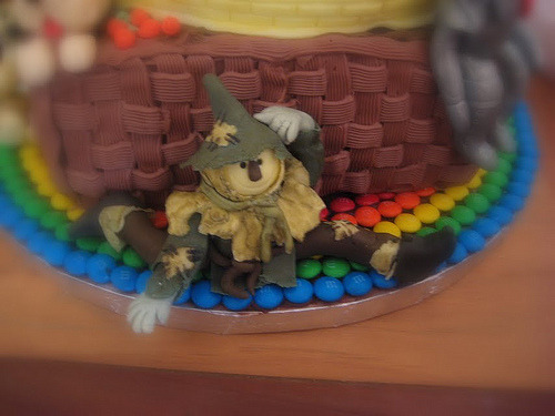 Wizard of Oz Birthday Cake (by LeConciergeSF)