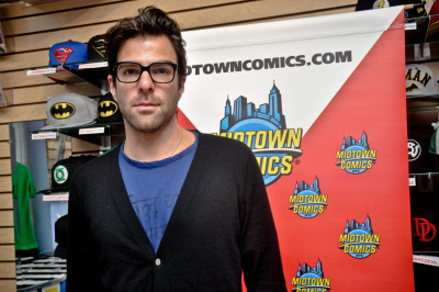 Zachary Quinto at Midtown Comics