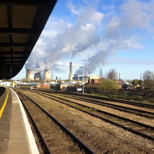 The Power of Didcot  (Taken with instagram)