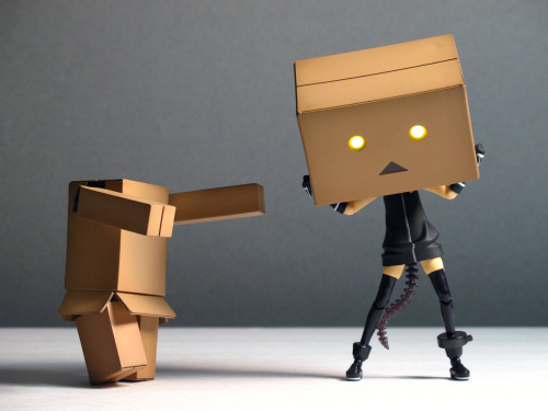 Finally landed myself a Danbo. It's quite fun. Hooray /toy/ challenge threads!