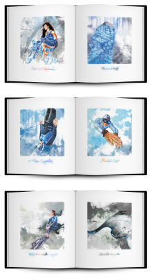 Digital imaging and graphic design | coffee table book for Blancpain - Fifty Fathoms http://www.fifty-fathoms-edition.com | with the help from jonathan ng (hand drawing)