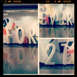 Forever21 Philippines! (Taken with instagram)