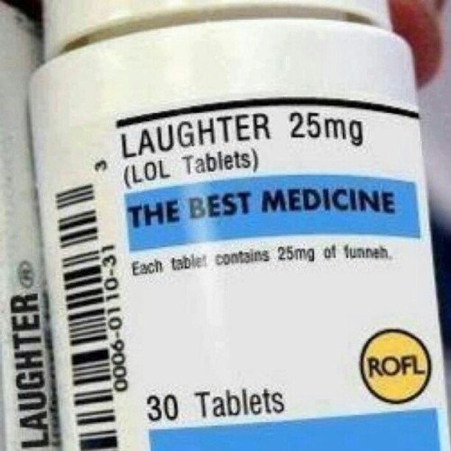 Den bästa medicinen. #medicine #laughter #happiness  (Taken with instagram)