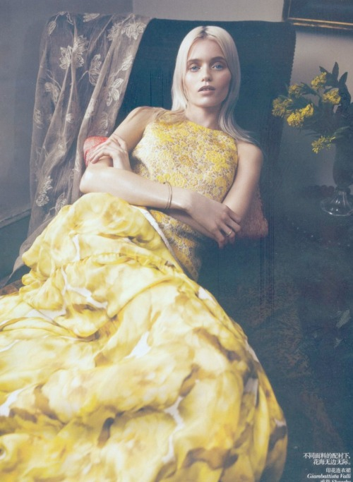 "Abbey Lee Kershaw in Vogue China May 2012 ""Bloom Forth""  by Lachlan Bailey"