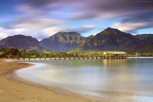 radosstt:  45 Seconds at Hanalei, Kauai by PatrickSmithPhotography on Flickr.