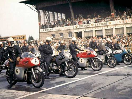 Moto GP Germany 1958 (John Surtees #6)
