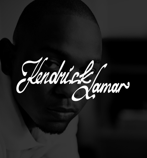 I did this typography called Kendrick Lamar, he'sis inspiration. Clever kid. www.forsuregraphic.com www.dribbble.com/forsuregraphic.