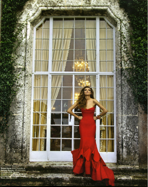 Bucket List: Be this skinny, Wear a red gown.