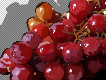 lezga:  - grapes - digital painting -