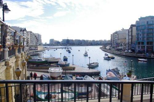 My Journey to Malta!  Day 1 - Spinola Bay  02.20.2012