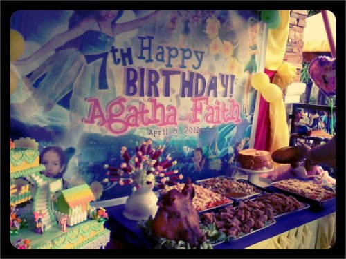 at Agatha's 7th Birthday! (Taken with picplz.)