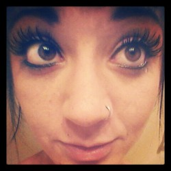 Thankful for these babies. My eyelashes, that is! (Taken with instagram)  Follow me on Instagram!  MaloriMorley :)