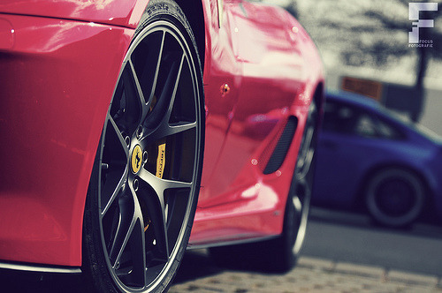 automotivated:  Ferrari 599 GTO (by Automotiveart.nl)