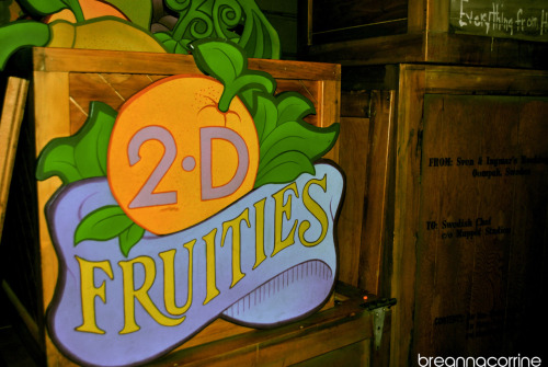 the signs in the Muppet 3D Vision show are great :)
