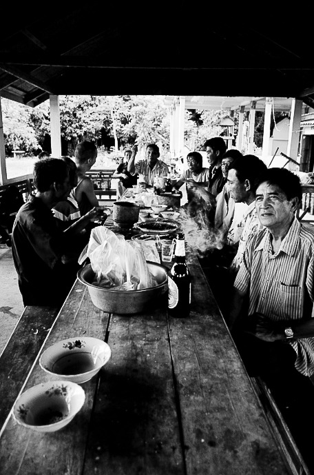 Lunch in Ban Lingsane // Laos