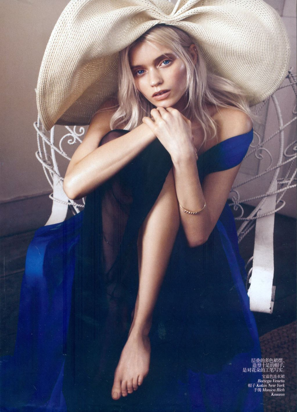 boomboxandbobbysox:  Abbey Lee Kershaw: Bloom Forth - Vogue China photographed by Lachlan Bailey, May 2012
