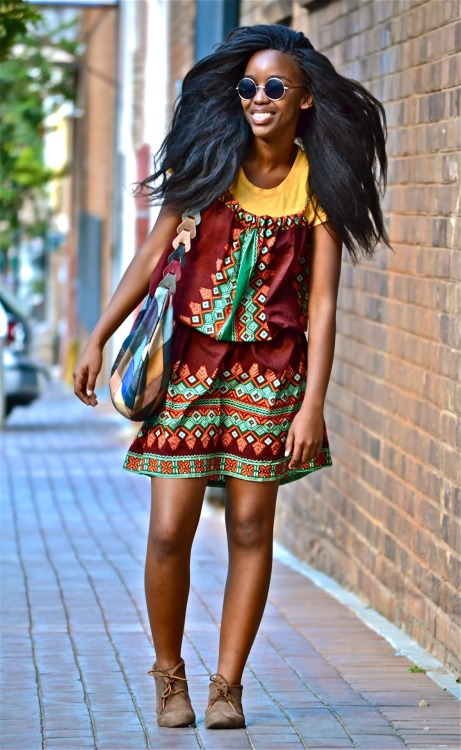 anthonybila:  South African Street Style | Thube Photographed by: The Expressionist  Black Girls Killing It Shop BGKI NOW