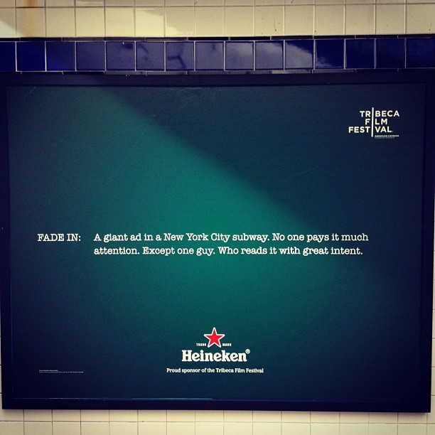 Amazing stuff Heineken (Taken with instagram)
