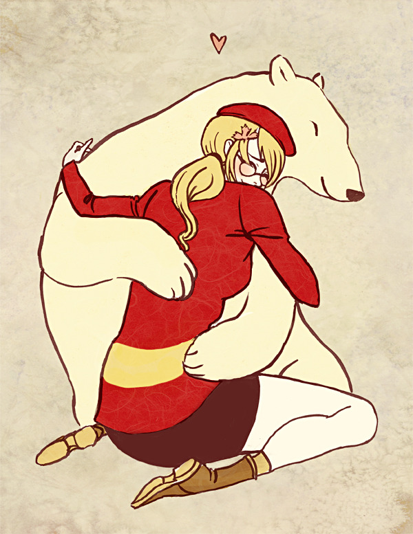 analdrawings:  037 more bear hugs