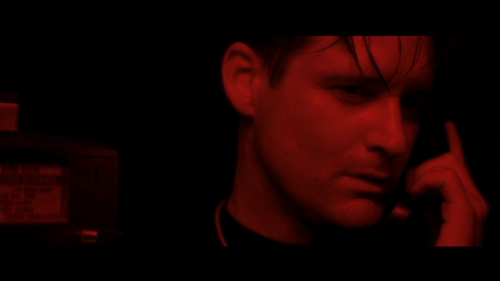 Bill Pullman in Lost Highway (1997) Directed by David Lynch, cinematography by Peter Deming.