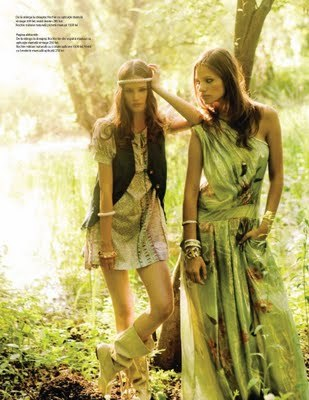 nuridroes:   SS2008 in The One Magazine