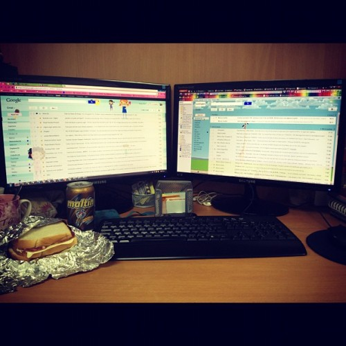 11. Where you ate breakfast / At office #photoadayapril #aprilphotoaday  (Taken with instagram)