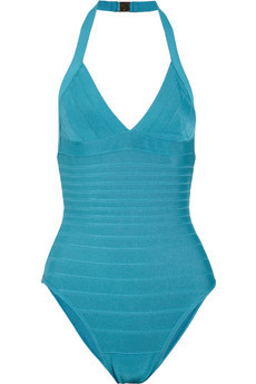 Would you spend more than £900 on a Hervé Léger swimsuit?