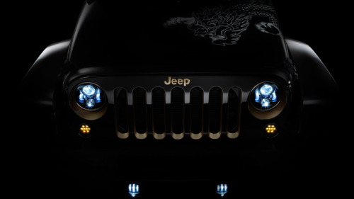 Year of the Dragon edition Wrangler concept (via Jeep enters 'Year of the Dragon' market in China | Fox News)