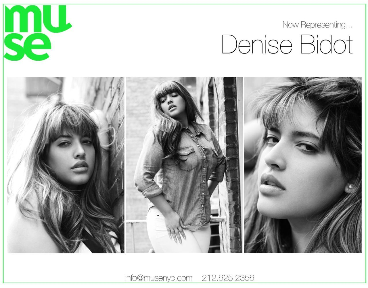 Denise Bidot is now at my agency Muse! All photos by me. :)