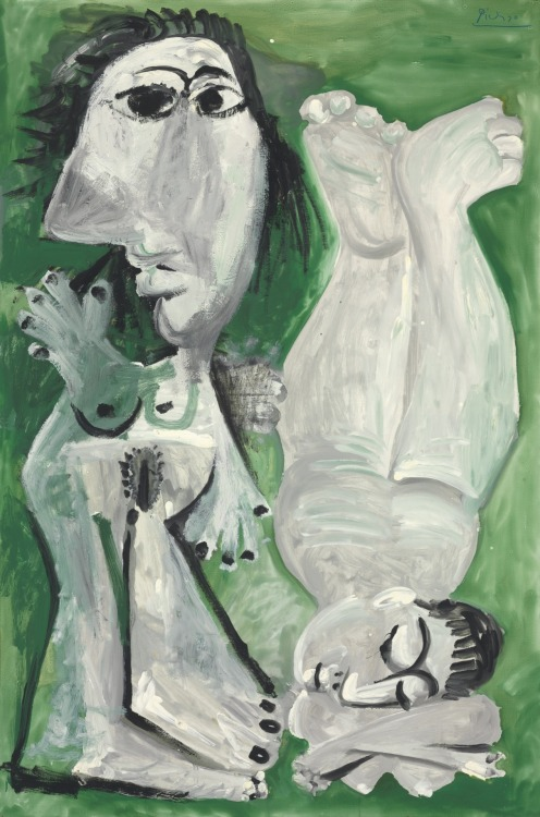 christiesauctions:  Pablo Picasso (1881-1973)Deux nus couchesImpressionist and Modern Art Evening Sale