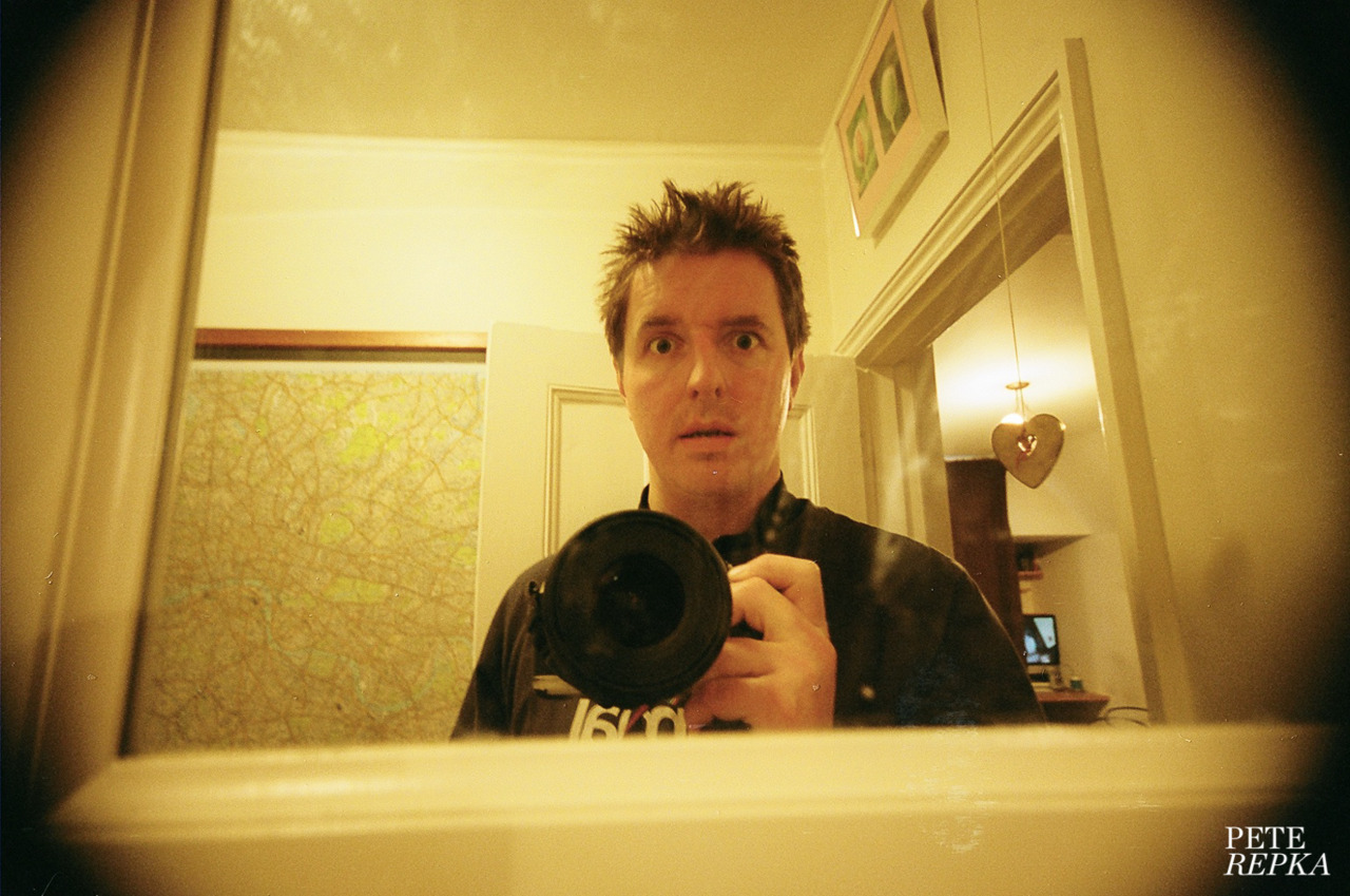 reflectedselfie:  The Bathroom. Feb 2012.