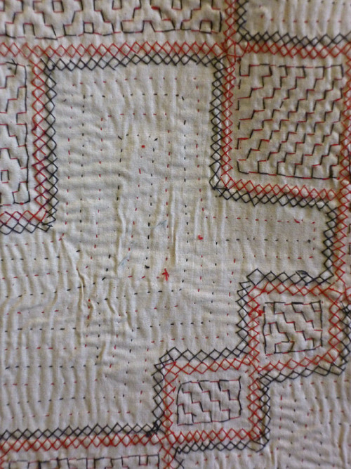 workman:  ritajardon: hand stitched cotton textile. rajasthan, india. sri textiles