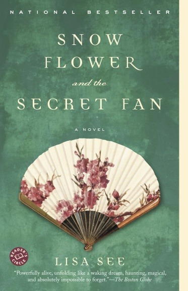 "Snow Flower and the Secret Fan: A Novel Lisa See New York, United States: Random House, 2005 Fiction. (Purchased as an E-Book, Number of Pages Unknown) First Edition              Laotong in Chinese means ""old sames"". It is an arranged friendship between two girls who are matched by a matchmaker, and this match must be precise in that the girls' ""eight characters"" have to be similar, such as their birth hour, birth day, birth month, birth year, the day their feet are bound, the age they had their feet bound, their placement in the family- whether being youngest/middle/oldest child and one other thing I failed to catch. Set in Puwei in Yongming County, China in the 1800's, this novel is about the lives of two girls who are laotongs.             I have never had such a hard time writing a review for a book before as I have had writing this one. I had finished this book well over two months ago and struggled to write about it ever since. This book is powerful and I was captivated by it in a way I can barely begin to explain. Instead of following an entire emotional journey with the characters in this book, I felt I was being carried along with it. It was as if I was reading about my own life and I blindly accepted and agreed with what was happening. To be clear, I have never had experiences exactly like the ones the girls went through in this novel; however, they reminded me of instances with many friends and people throughout my life. That being said, there were many events that took place in which I couldn't empathize with and they aroused disbelief and other melancholic emotions within me.              This novel is about a very deep relationship between a girl named Lily and her laotong Snow Flower. The history of their matching is a very complicated and sad one. Yet, this friendship is more important and in a greater depth to these girls then even marriage. Although marriages were arranged too, they consisted of a lot of pressure for a woman- to be the perfect wife for a man and his appetites although their knowledge in that area was limited, to get pregnant with the perfect sons otherwise their place in their husband's household was uncertain, and to be the lowest of all family members in your own home and in your husbands' where the in-laws had a right to abuse you. With a laotong, girls can share and experience deep hearted love, which is the purest of all, and be accepted for who you are and have someone to support and comfort you. Any other relationship was strict, since being a girl meant you were a ""worthless branch"" and the love from those other relationship was so easily jeopardized. Take for example mother love, in the Chinese language it is written with the same characters for pain and love and it was exactly that. Mothers were hard on their daughters, they believed the harder and meaner they were to their daughters that the better the daughters would learn to endure the life of being a female. Daughters thought their parents didn't love them, that they would've been better off dead, regretted being born a female and endured extreme pressure to make up for their worthlessness. This kind of love cannot be easy on any person's psyche, whether you are girl or a boy.              An obsession with deep hearted love, the unrealistic ideals it caused for a desperate girl, the hardship of being female in this time and culture and a lifelong friendship to endure it all with an ending of unexpected tragedy makes for an amazing book from Lisa See. Despite the fact I found it difficult to write a review for, I loved this book. I feel it was a definite must read for people like me and that my bookshelf is becoming complete with Lisa See's novels on it.              As for the movie, I enjoyed it as well. The novel was not followed exactly, many things were changed such as the twist they added into it of switching between the past and modern day. It was unexpected and I was a little unsure how I'd feel about the movie after reading the book but it was well done, it created the same feel and emotions. However, certain parts about the past would be hard to follow without reading the book first since a lot of events were left out. I think to the people who didn't read the book first it would seem a mediocre movie with the flow of it lacking. The movie is not a must see after reading the book, the novel is more than sufficient."