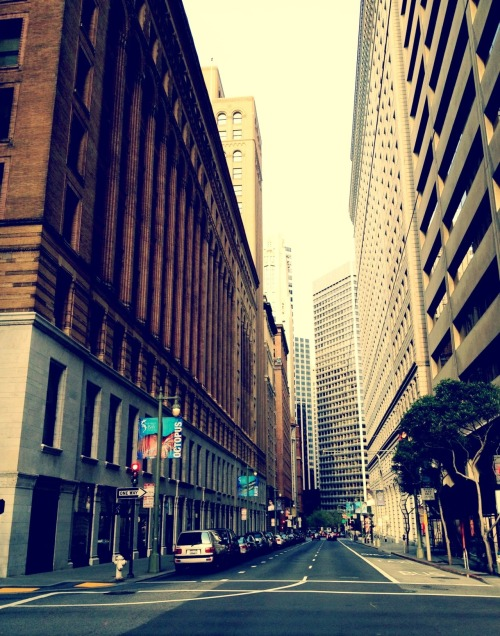 SAN FRANCISCO STREET 2012 iPhoneography Shot taken during my vacation in da Bay Area.