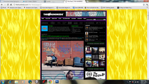 Shout out to The Hundreds. http://thehundreds.com/the-feed/2012/04/10/absolute-united-springsummer-2012-collection/