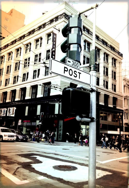 SAN FRANCISCO POST 2012iPhoneographyShot taken during my vacation in da Bay Area.
