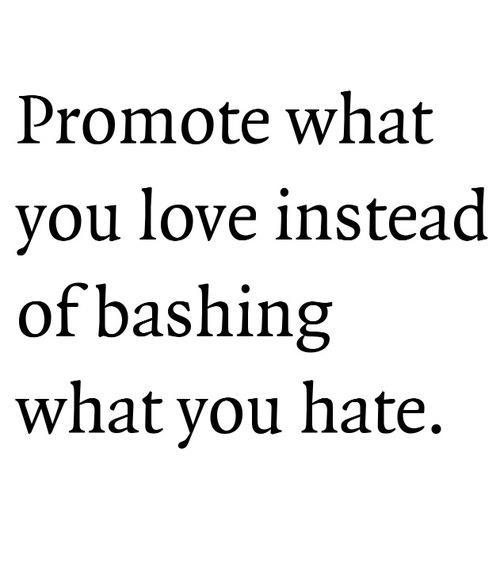 Promote what you love <3