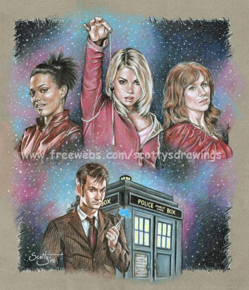 stepchildofthesun:  Doctor Who Companions by scotty309.