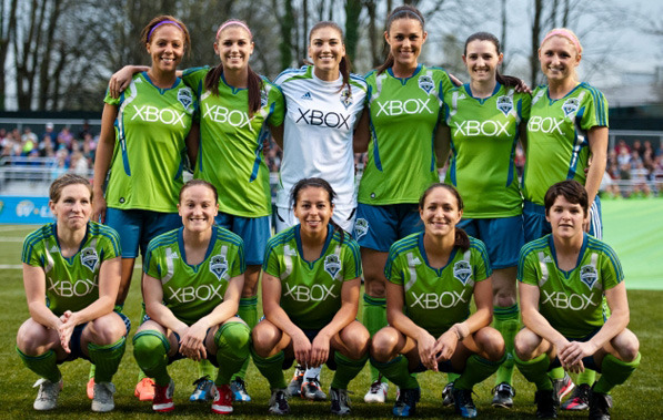 Sounders Women Team on TheOriginalWinger.com