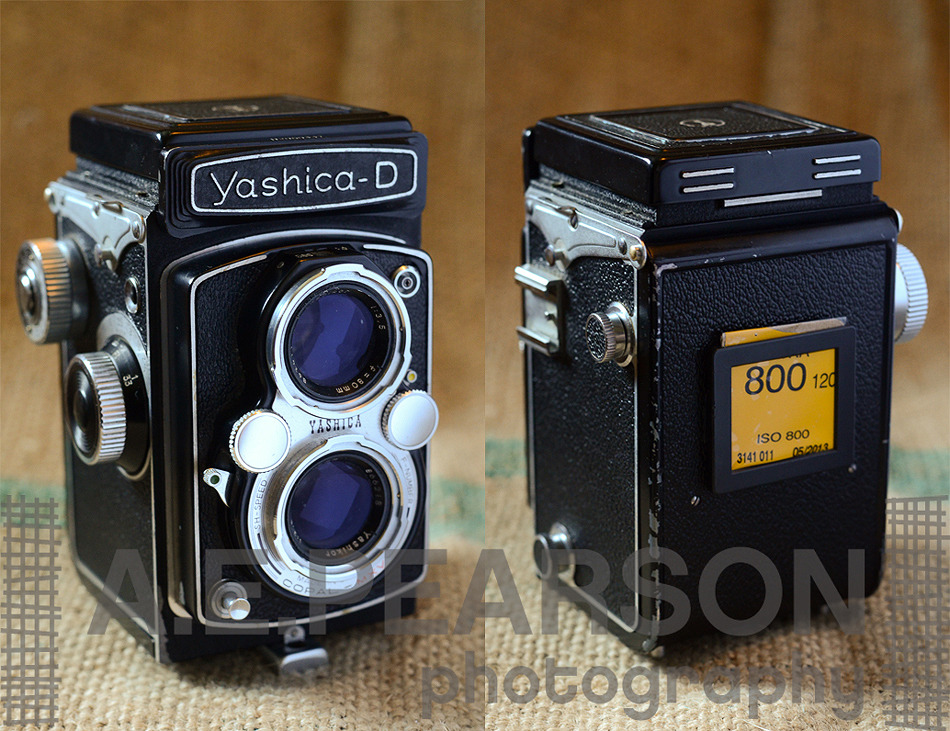 "Yashica D TLR Review - The BEST Budget Medium Format Camera Ever Made! As with many photographers, I myself am a bit of a HUGE photography equipment nerd. It's hard not to be honestly. There are so many incredibly cool cameras, think about some of the factors that contribute to the diversity for a second: 150 years or so of research and development Varying film formats (a variety of small, medium, and large formats) Consumer taste Manufacturing and materials trends and developments Competition! Being a photographer, I have the fortunate disposition of being in a field where the tools of my trade are often bona-fide antiques. For a guy that spends weekends wandering through thrift shops and antique stores, it's a blessing. I mean, not only are some of the older cameras I've owned absolutely gorgeous pieces of mechanical beauty - but they TAKE FREAKIN' PICTURES. Yes, that's right, even my 100 year old folder camera my aunt gave me takes pictures. After all this time - they are still relevant tools of the trade.  Ah. Mazing. With all that said, I have owned/use a LARGE variety of cameras. Whether it be 16mm, 35mm, Medium Format, or Large Format - I'm on a perpetual search for the ""perfect camera"".  The *right* camera isn't always affordable - but then comes the Yashica D. This camera is, in my opinion, one of the best all-around medium format cameras on the market. It's not a Hasselblad, or a Rollei…but it's also something you can find ALL DAY LONG for well under $100. This one, in the incredible condition it's in, set me back $81. If you are reading this you probably are aware of the current used prices these days of quality medium format cameras, and you are probably picking your jaw up off the ground right now too ($81?!?!).Why do I love it, and why should you go buy one RIGHT NOW?   The fit is near perfect. The layout of the winding knob, focus knob, shutter speed and aperture dials, shutter cocking lever, and shutter release button are all in just the right spot to be used without confusion and, after getting used to it, without even looking. This, to me, is HUGELY important. Sharp optics. Apparently there are two different versions of the 80mm f/3.5 lens that comes with this camera. Yashikor and Yashinon (I think?). If you care about the ""expert"" reviews on the internet about these two lenses, you'd probably be convinced that the Yashikor is worthless and not sharp. And, you would be wrong. If I can say one thing about reading camera reviews online it's that they are mostly based on rumor and not actual experience. Take everything you read with a grain of salt. The ""feel"". This camera just feels right. When you are holding it, its hard to ignore the voice in your head that tells you to grab a handful of film and get to shooting. Seriously. Ease of use. There is no bulky and unreliable meter built into this camera. All you need is a handheld meter or the good ol' Sunny 16 rule. This camera is just plain simple. Everything about it just WORKS. Design. It's beautiful, isn't it? And, man, this thing is SOLID. Compared to the Yashica Mat 124G (of which I've owned a few), even though it's essentially the same camera, it just feels much more solid and well thought out. Also, the lens is fixed and not interchangeable - to some this is a negative attribute, to me, this is more of a reason to buy one. Keep it simple.  The price. Under $100 for a killer medium format camera. Yes. Please.   So kids, if you are in love with medium format - or just getting started - I HIGHLY recommend this camera for you. You will not be disappointed.If you are looking for more technical resources regarding this camera, please take a moment to check these links out: http://camerapedia.wikia.com/wiki/Yashica-D http://mattdentonphoto.com/cameras/yashica_d.html http://www.butkus.org/chinon/yashica/yashica_d/yashica_d.htm"