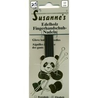 "(via Susanne's Ebony 4"" Double Point Glove Needles in Susanne Knitting Needles at Webs)"