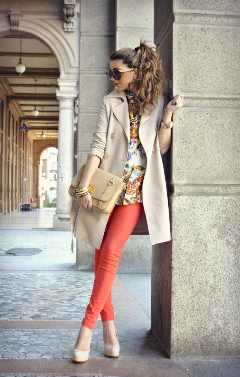 This is a pretty chic look, I love it!