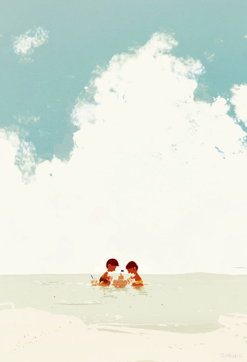 solairebee:  Sand Castle by *PascalCampion