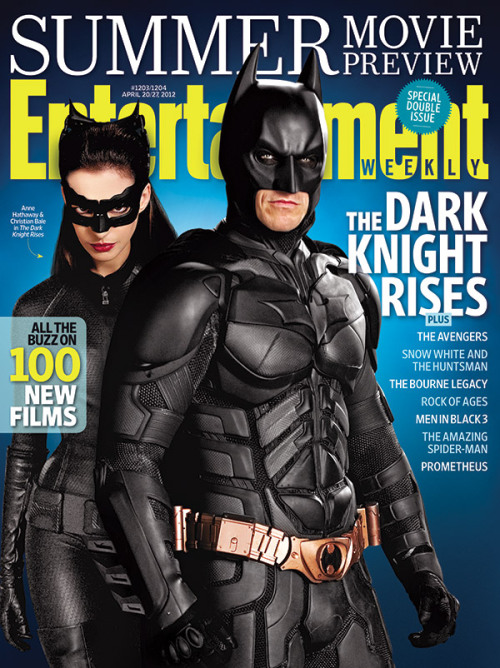entertainmentweekly:  This week in EW: Our giant summer movie preview, featuring The Dark Knight Rises.