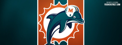 Miami Dolphins Logo 2 Facebook Cover