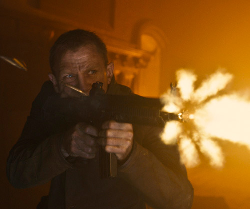 Daniel Craig talks Skyfall: On-set report