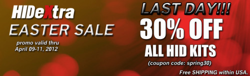 LAST DAY of the Extended Easter Sale! GO HURRY and ENJOY your 30% OFF in all of our kits. EXTENDED Promo starts on April 9 and ends TODAY (April 11) Coupon Code: spring30