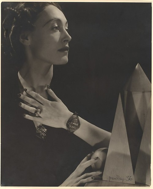 Man Ray - Nusch Eluard ,1936    see also